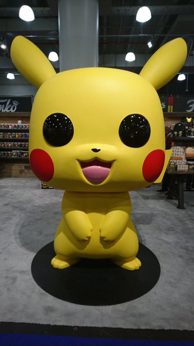 Bei @originalfunko könnt ihr ein wildes Pikachu entdecken!  #ToyFair2020 #tfny #pikachu #pokemonpic.twitter.com/TGOnwmrQhL