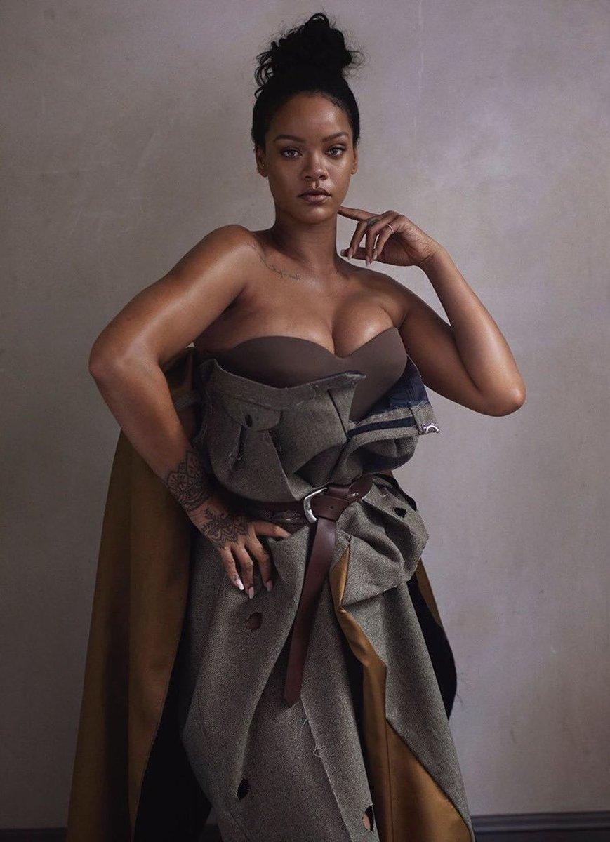 Rihanna for VOGUE (Nov. 2019 issue).
