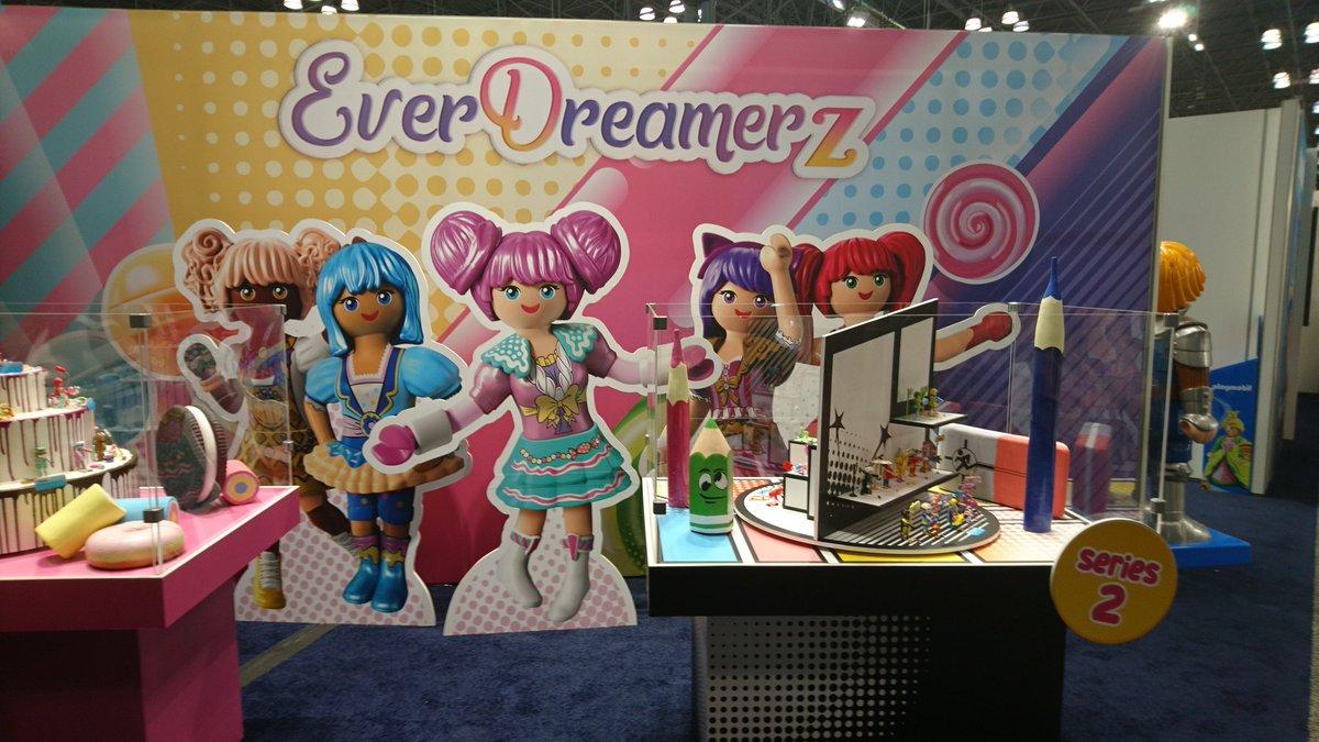 Auch @playmobil und die EverDreamerz mischen bei der @ToyFairNY mit. #TFNY2020 #TFNYpic.twitter.com/hHZtfjzts7