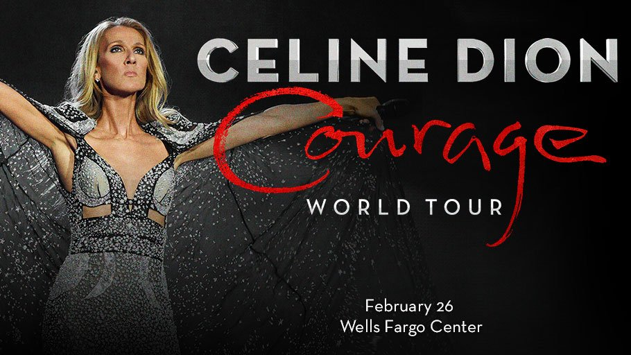 Share your courage story and it could be displayed backstage for Celine Dion to see!   🔗»