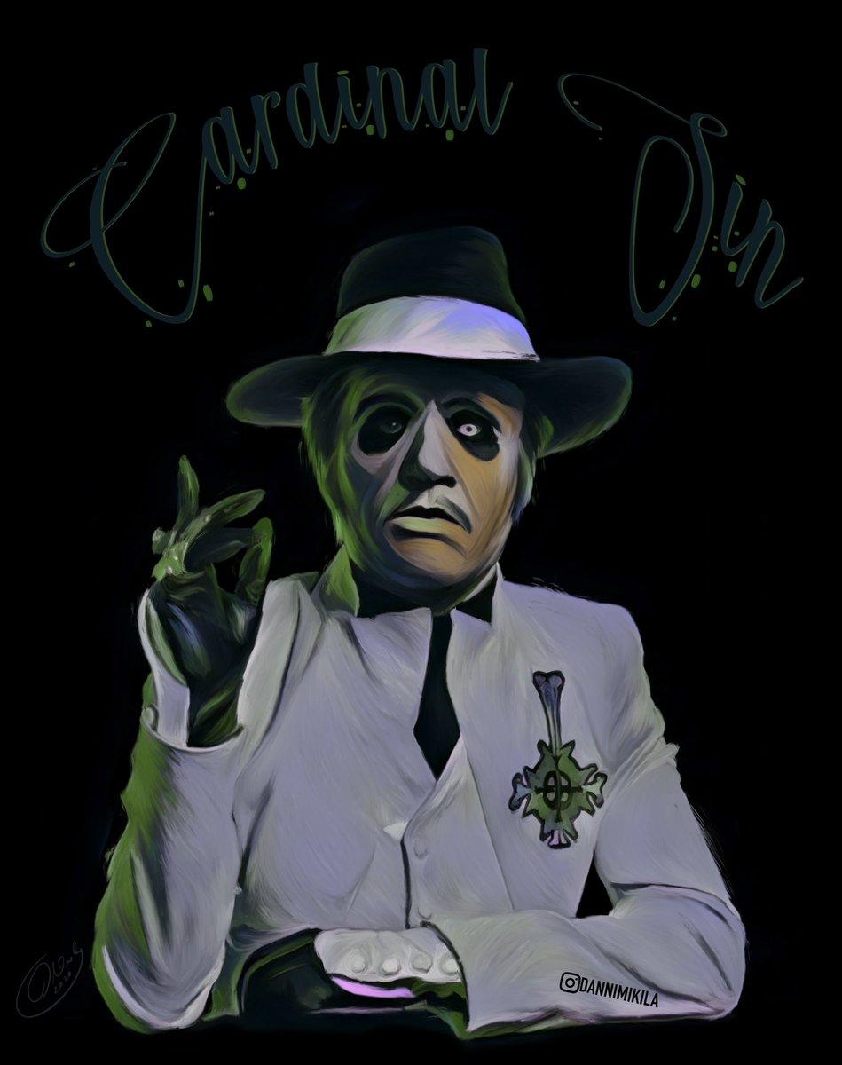 Summore Ghost works #ghost #thebandghost #ghostband #ghostbc #cardinalcopia #cardic #papaemeritusii #papaemeritus2 #twitterartpic.twitter.com/ohvFxu36nQ