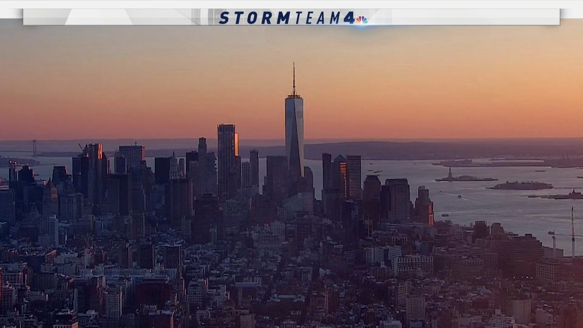 What a beautiful day. Let's do it again tomorrow. #NYC #sunset