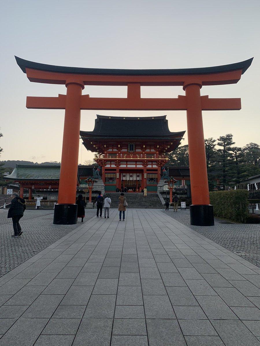 伏見稲荷圧巻🙇♂️ 千本鳥居⛩も凄い幻想的だった❗️ #京都 #伏見稲荷 #千本鳥居