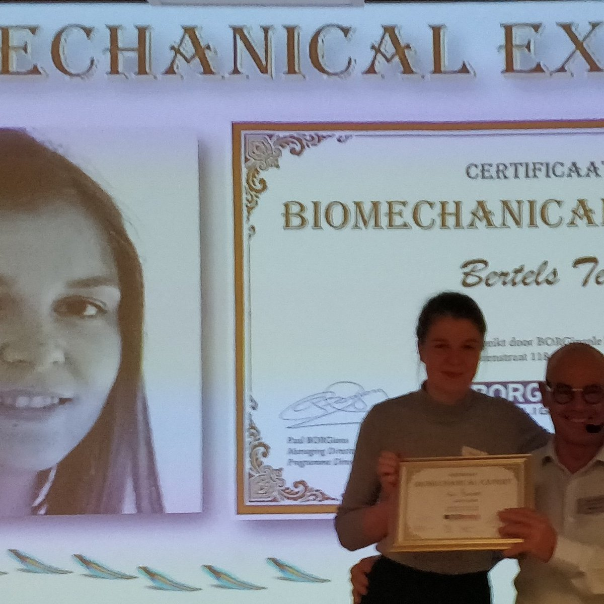 Congratulations Tess Bertels as #Biomechanical Expert https://t.co/BwgW5PPU5k