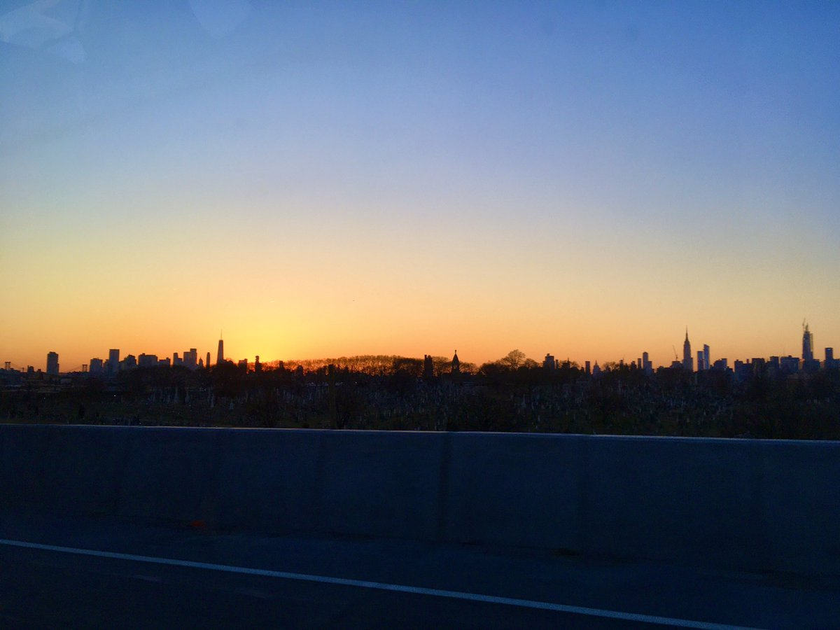 #SaturdayThoughts #sunset Good night, #NYC
