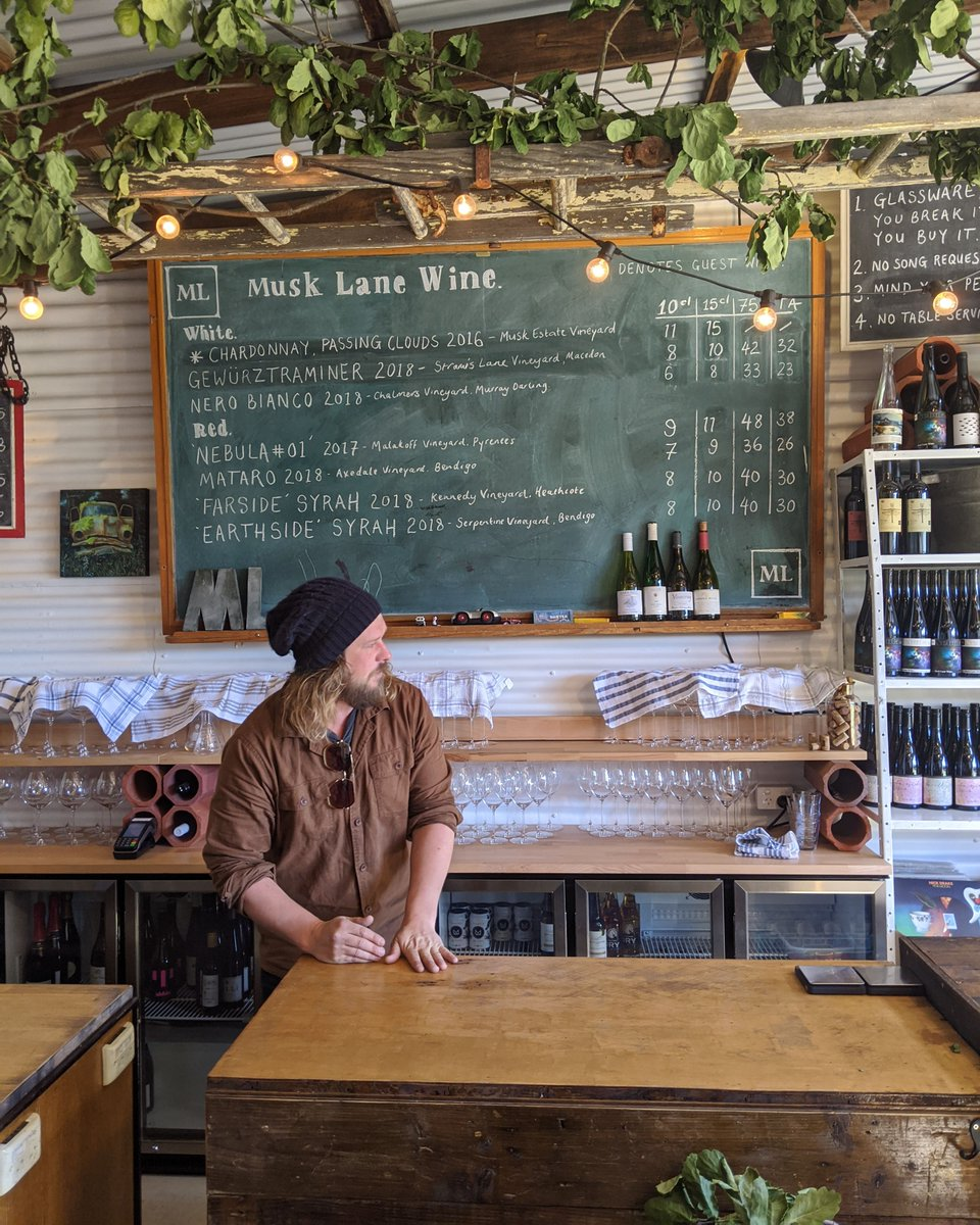 test Twitter Media - Hidden down a laneway in the heart of Kyneton you'll find Musk Lane Wine 🍷 An urban neighborhood winery and cellar door producing small batch, Lo-Fi wine making from Victorian Vineyards in the Daylesford Macedon Ranges. https://t.co/YUu6z3ebma
