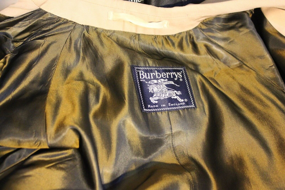 #BURBERRY #SPECIALITY #BURELLA.. VINTAGE….. #PURE #WOOL #SHOWERPROOFED #COATING