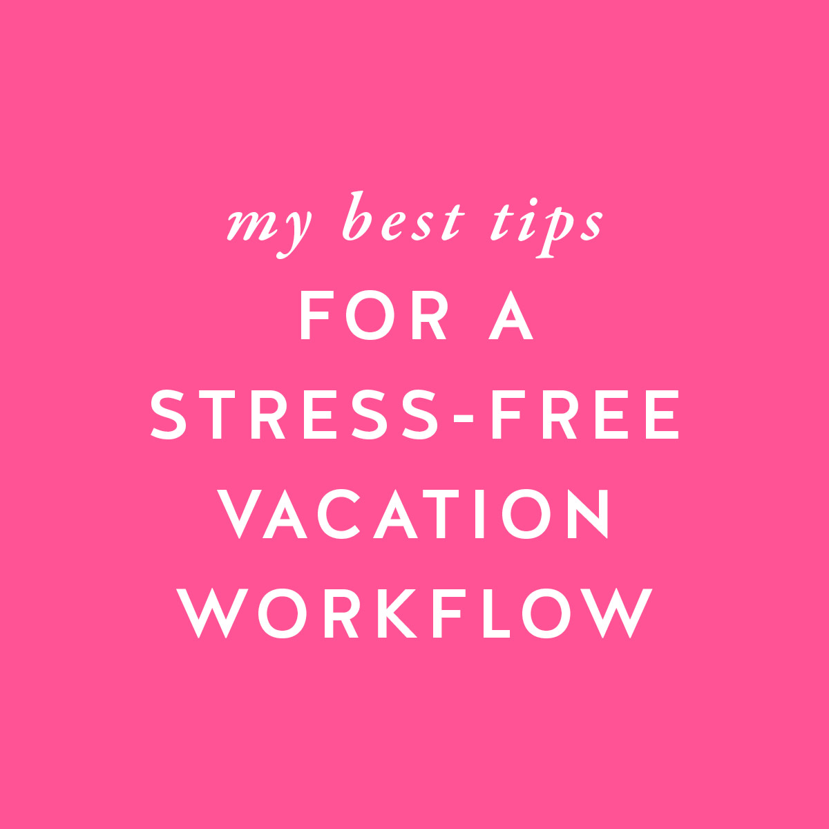Working on vacation shouldn't be complicated or stressful. It should be simple and effective. http://bit.ly/2JdDPFT  #femaleentrepreneur #entrepreneurlife #productivitypic.twitter.com/bhcVBNLAsv