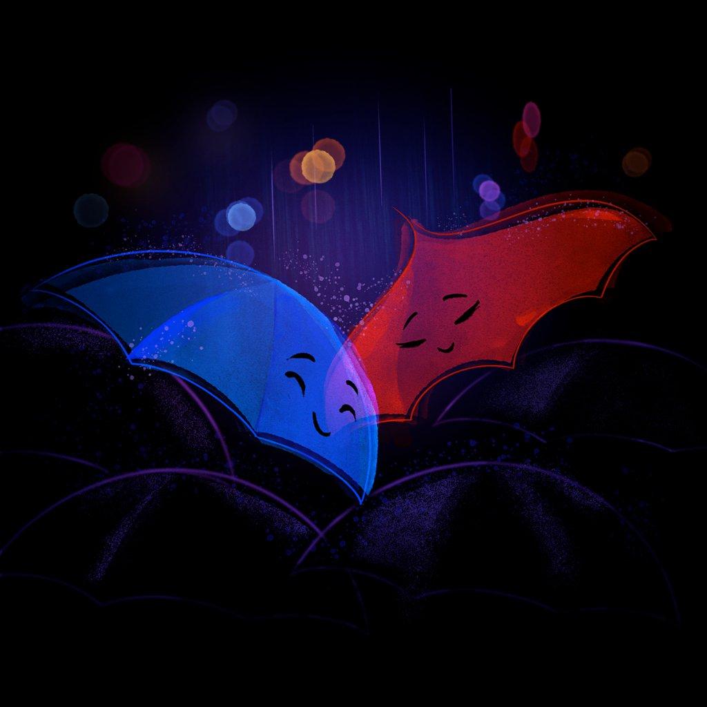 Replying to @Pixar: Rain or shine, glad you're mine. 💙❤️