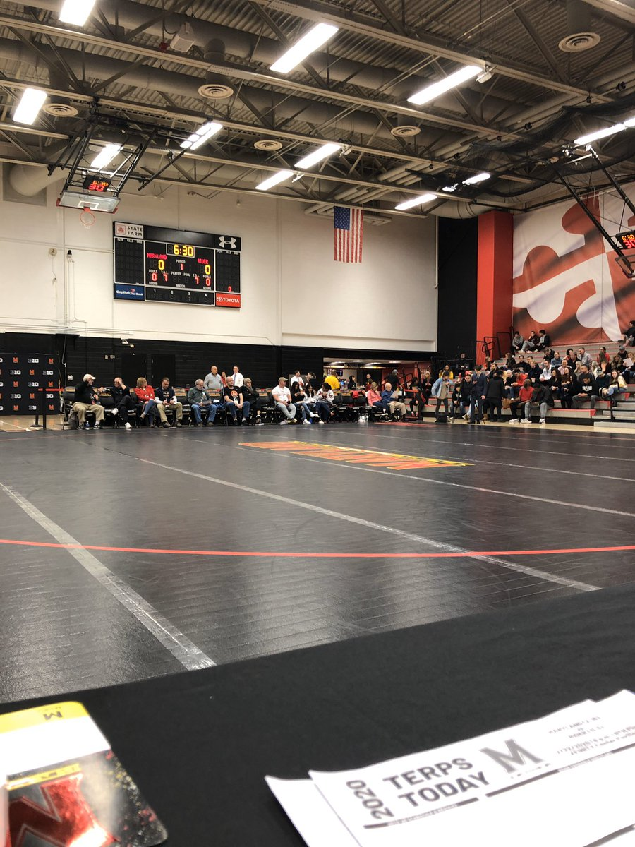 Maryland set to wrestle Rider University for Senior Day.  The Terps will look to break their 12-match losing streak and earn a win in their last dual of the season.  Follow this thread for live updates for @testudotimespic.twitter.com/LNdcDedKoC