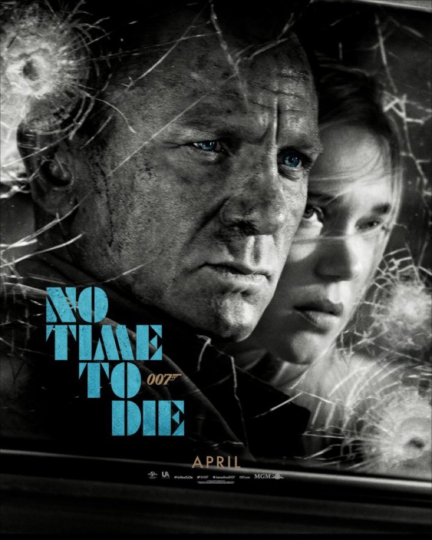 Another new #NoTimeToDie  poster 🤩