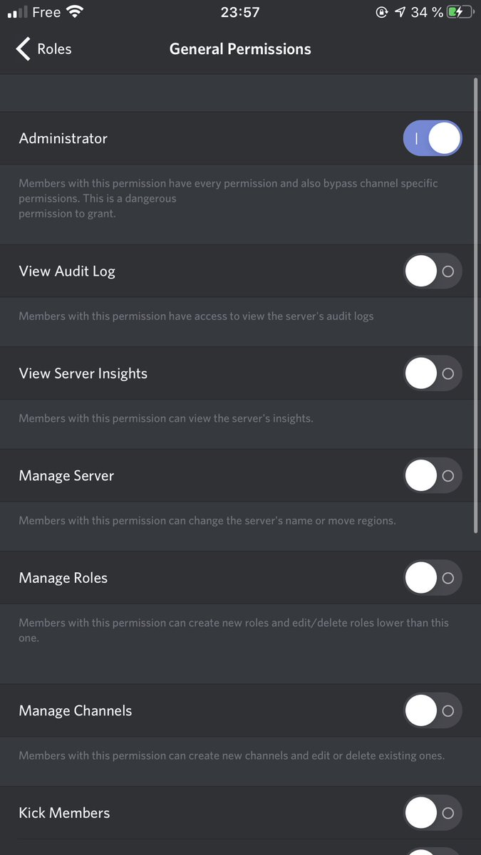Hello @discordapp would it be possible to add advanced permissions?  Example: Moderators can join a channel 10/10 people without Administrator permission?  I take as an example the advanced permissions of TeamSpeak which allow them many things  Thanks Discord pic.twitter.com/BPA8UgQpwj