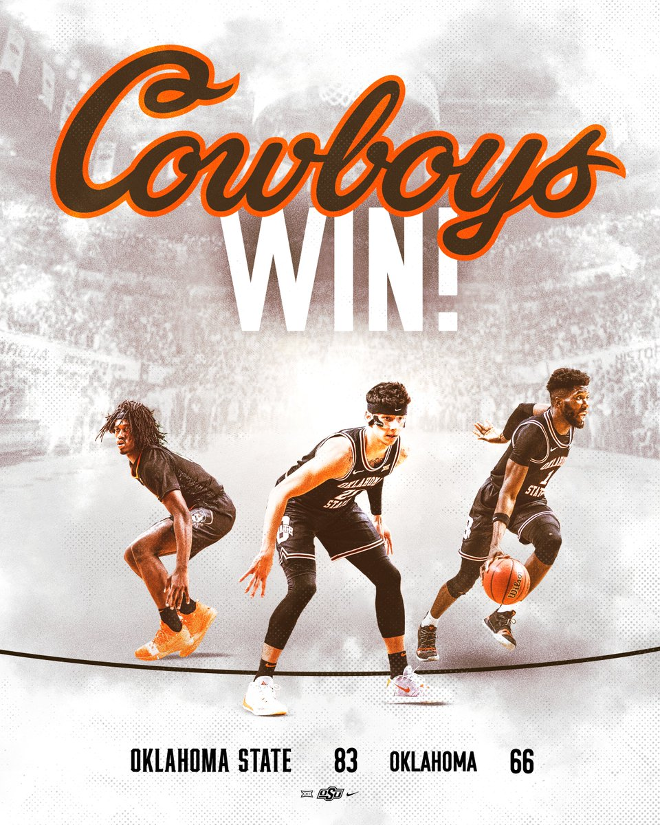 Home court: Defended.  #LetsWork | #GoPokes<br>http://pic.twitter.com/YvC7rkx6cU