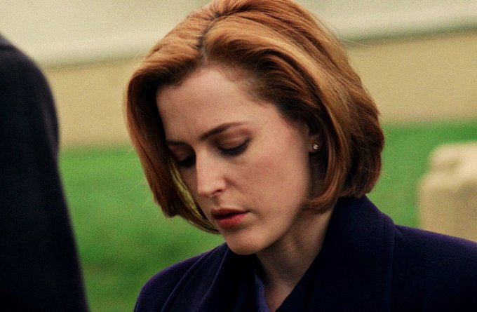Happy birthday, Dana Scully. Thank you for helping me fight my battles.