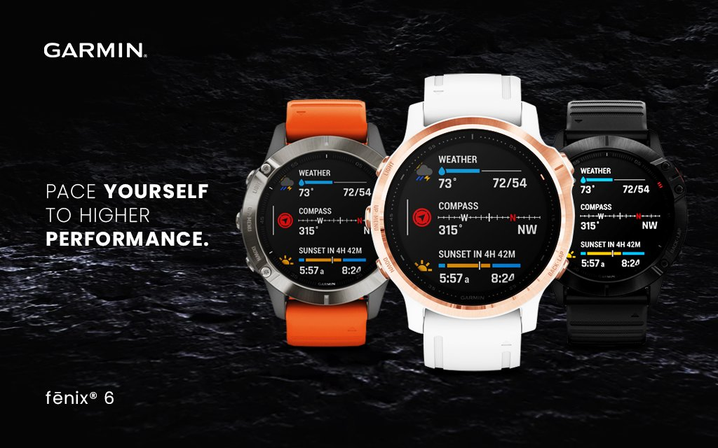 Purchase a @Garmin #Fenix 6 Smartwatch and send you a $20 giftcard https://buff.ly/38PQLKZ  #garmin #LimitedTimeOfferpic.twitter.com/eae6IL8KQA