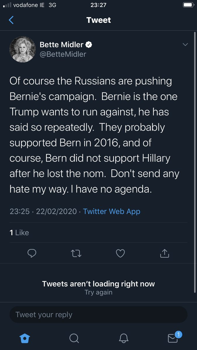 Excuse me what now ??? Wait is she actually serious ??? @iskandrah #Sanders2020 pic.twitter.com/y4YEPQfz3b