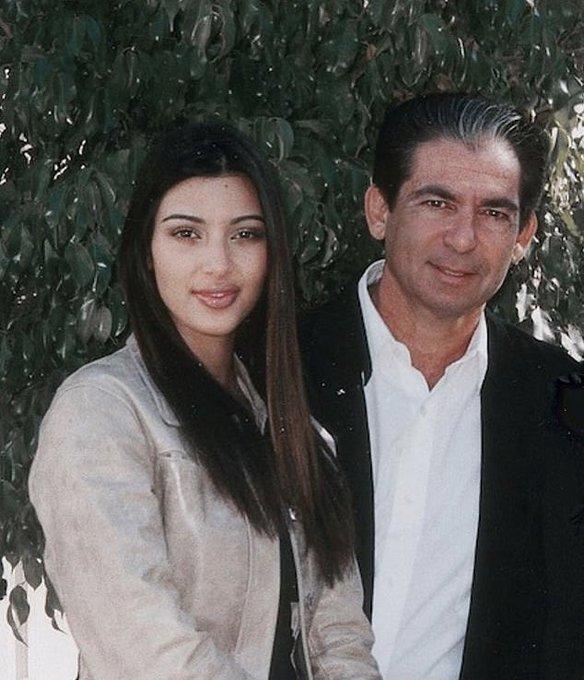 Happy birthday to Mrs. West s dad, Robert Kardashian.