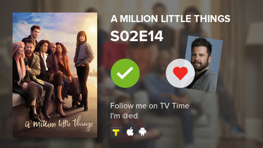 I've just watched episode S02E14 of A Million Little... #amillionlittlethings  #tvtime