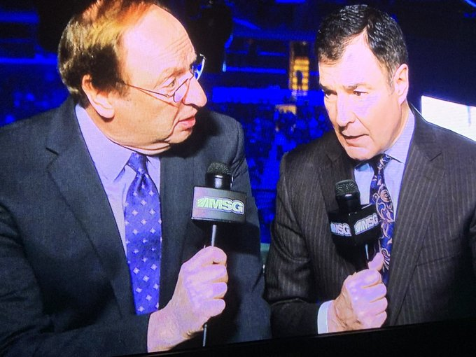 Sam Rosen and Joe Micheletti
