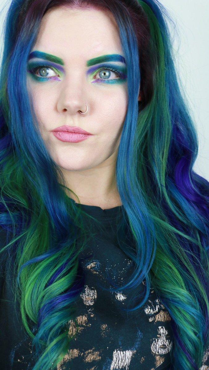 #JeffreeStarCosmetics #colourful #makeup #hairLove