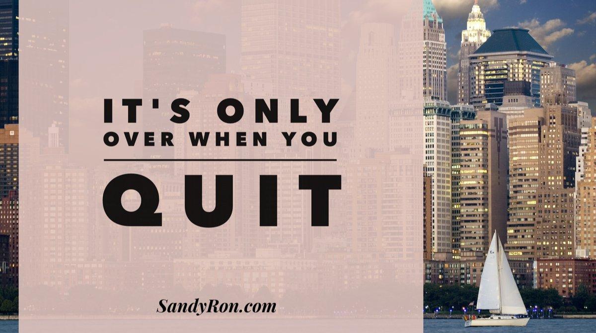 So, NEVER let it be over!    #BeMyOwnBoss #WorkOnline<br>http://pic.twitter.com/MK52muiVqq