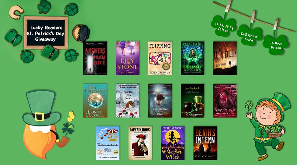 #StPats #Giveaway! $42 #Cash #Grand #Prize! #Free To #Enter!    #contestalert #prizes #freebies #booklovers #Contest #raffle #freestuff #freebooks #bookworms  #money #swag