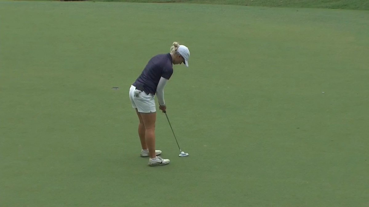 Kyriacou for a 🔟 shot lead.  Simply incredible golf 👏🏻  #AusLadiesClassic