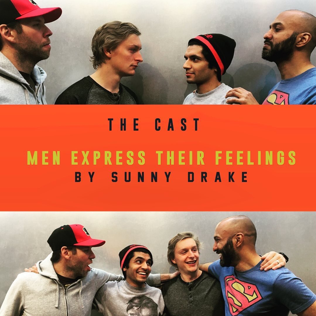Got your tickets yet? @DownstageYYC presents Men Express Their Feelings opening next Saturday night. This show is wicked funny, don't miss out #yyc! #livetheatre pic.twitter.com/mkOJKMFlYB
