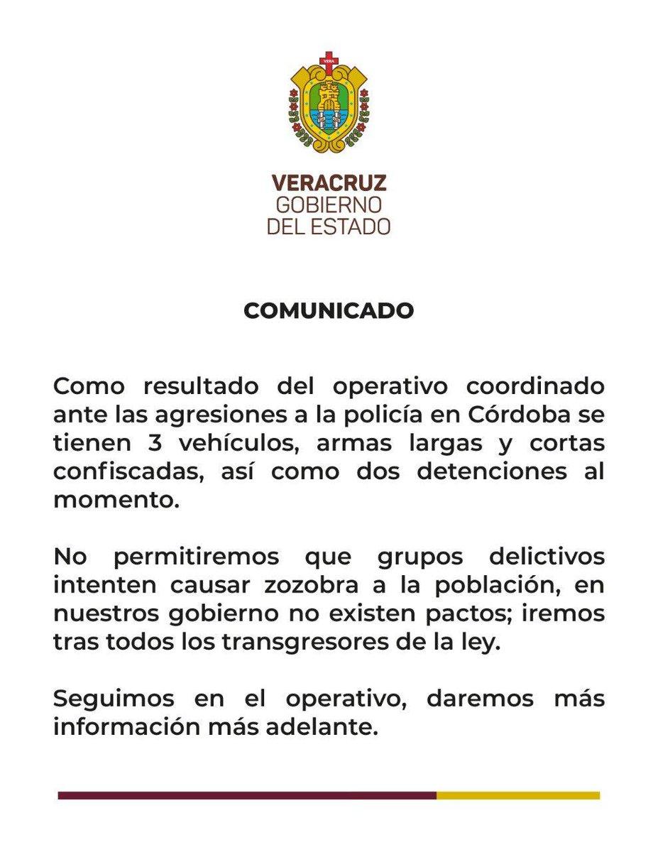 ✅#CórdobaOrizaba Detienen a 3 tras enfrentamientos en Córdoba➡️https://bit.ly/3bZH0vE#OlivaNoticiad #Multimedios