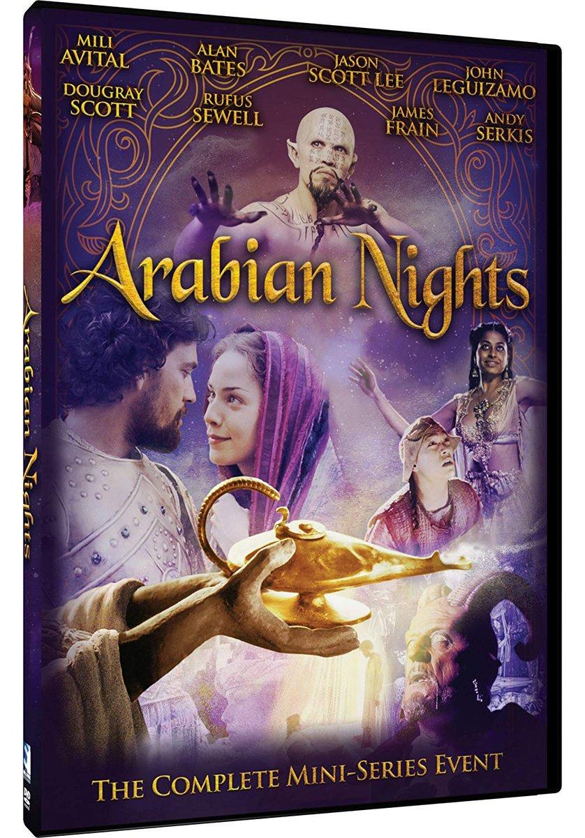"He played 2 genies on a tv series called ""Arabian Nights"". pic.twitter.com/MKn1eM41Pj"