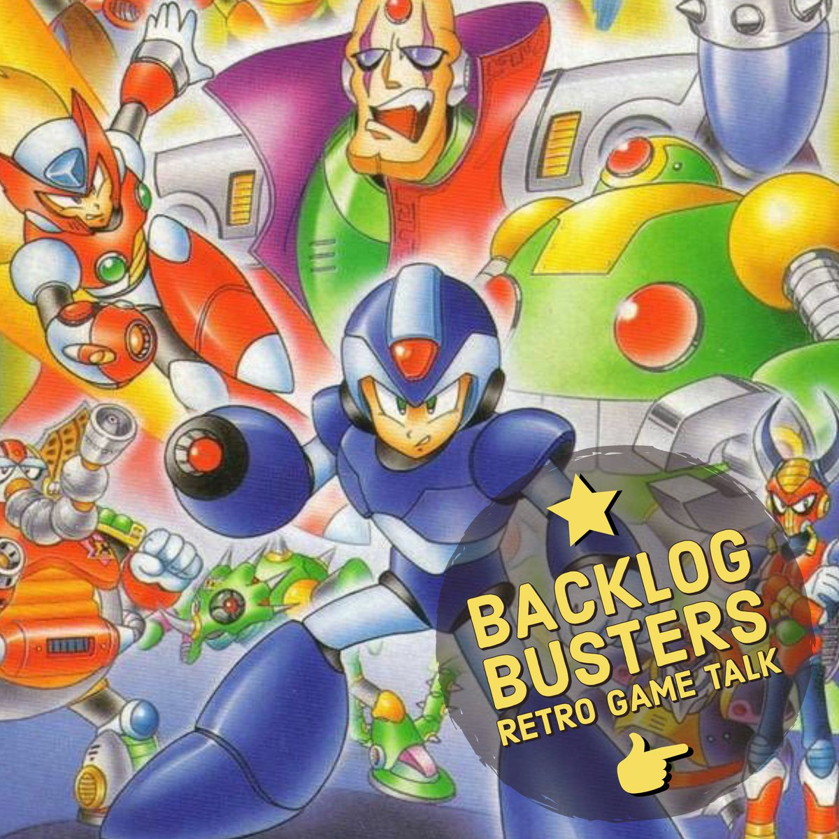 Super excited for the new #RetroGameTalk series on the @backlog_busters! Between episodes we'll be playing retro games and waxing poetic about them!  In the first episode @BlazeKnight0923 and myself discuss the classic Mega Man X and its direct sequel X2!  https://www.podbean.com/eu/pb-4tbqi-d48777…pic.twitter.com/1hmTxgllaP