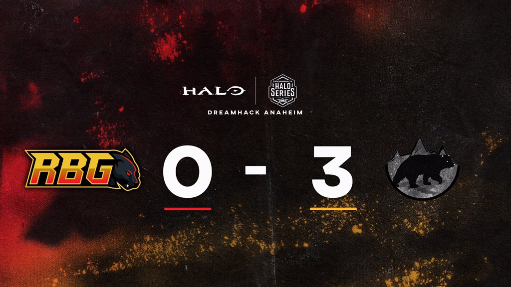 We fall short to @FallingEsports in a tough series. The final King of the Hill ended 193-195, GGs to them.  #RBGfam #RBGhalo #DHANA20 #HCSpic.twitter.com/ifUbiO475a