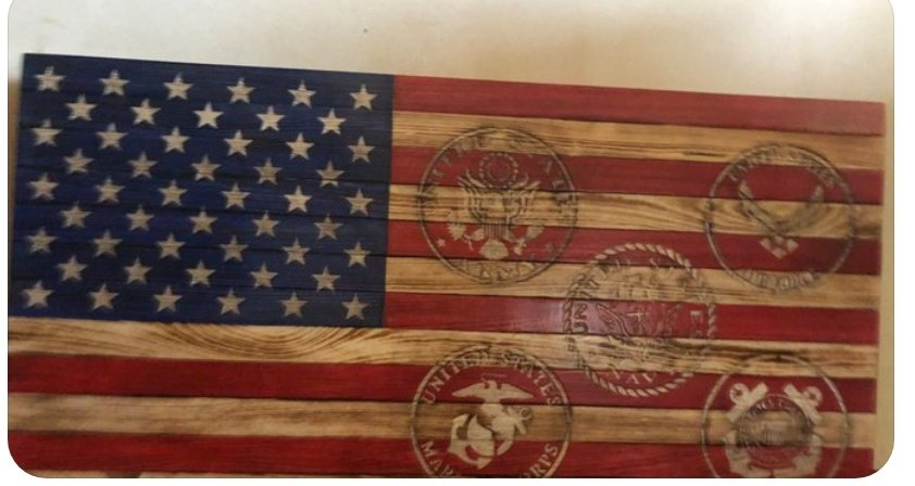 http://Wardandwifewoodcrafts.com  Check These Out @Wardandwife    They Have Beautiful Handmade American Flags on Quality Wood !! Add Your Personal Message    You Can Add Military insignias or  Personalize it just For You pic.twitter.com/FOr9uARgoS