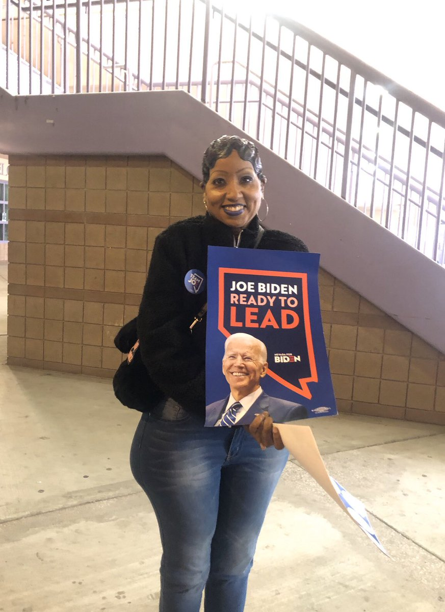 If your Celebrating #BernieWon U must not care abt. Repubs. Going 2Caucuses to vote4 him &U must actually love Russian Assets like Bernie/I caucused today,& In my district Biden Won😁😁/See look 👀 I helped Biden #SaturdayNight 👋🏾👋🏾 BTW Bernie can't beat DT