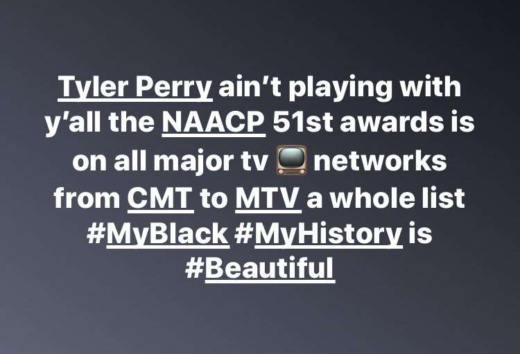 🖤🤎✊🏾✊🏿✊🏽✊🏼 #blackhistorymonth2020 @tylerperry