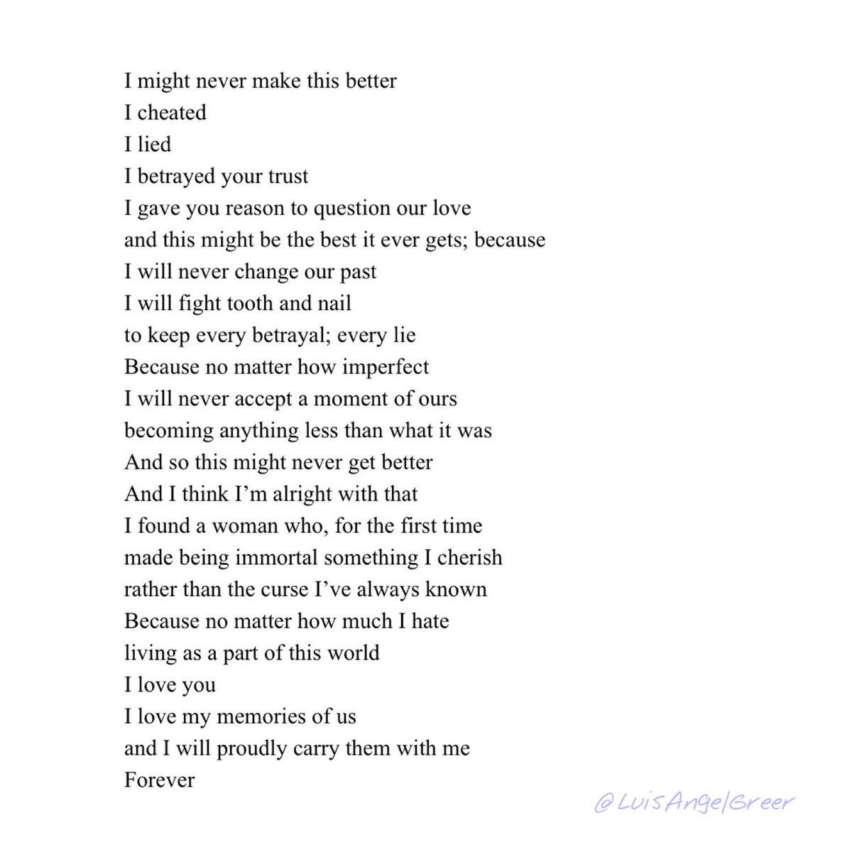 Social Media Collection XI, Piece 92 : Untitled Omen Piece 200222 (1)  #poem #poetry #prose #bleedingedgepoetry #originalpoetry #poetryforthesoul #spilledwords #spilledthoughts #spilledink #darkpoetry #love #lovepoem #lovepoemspic.twitter.com/BI2zsqYVki
