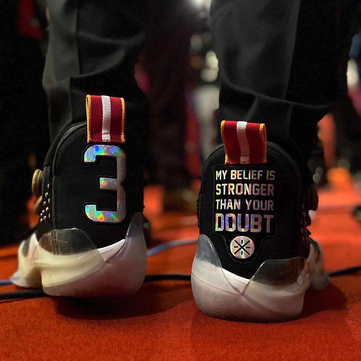 My Belief Is Stronger Than Your Doubt! • @DwyaneWade #L3GACY