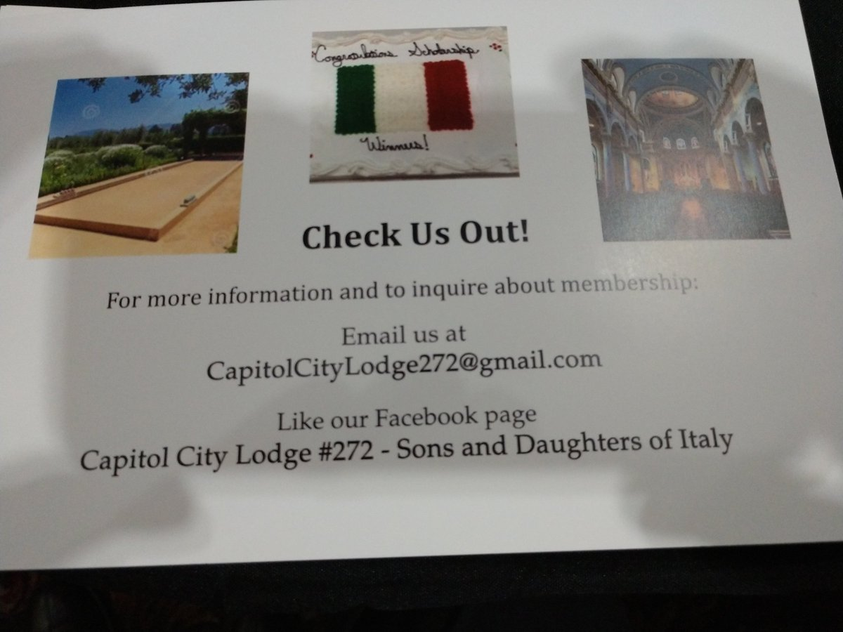 Info if your interested in joining the local Italian American community for social and fun events. 🇮🇹🇺🇸🇮🇹🇺🇸🇮🇹🇺🇸