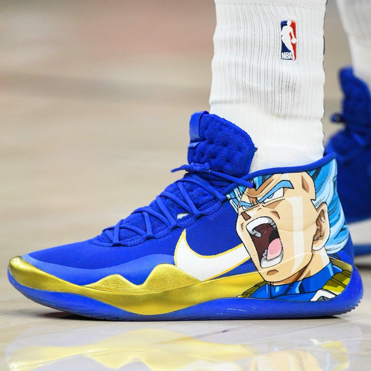 """Super Saiyan Blue Vegeta"""" Nike KD"""