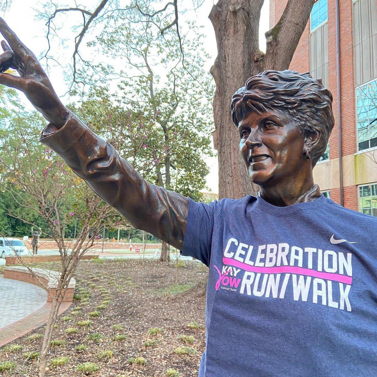 Photos from today's @KayYowFund Celebration Run/Walk warms my ❤️