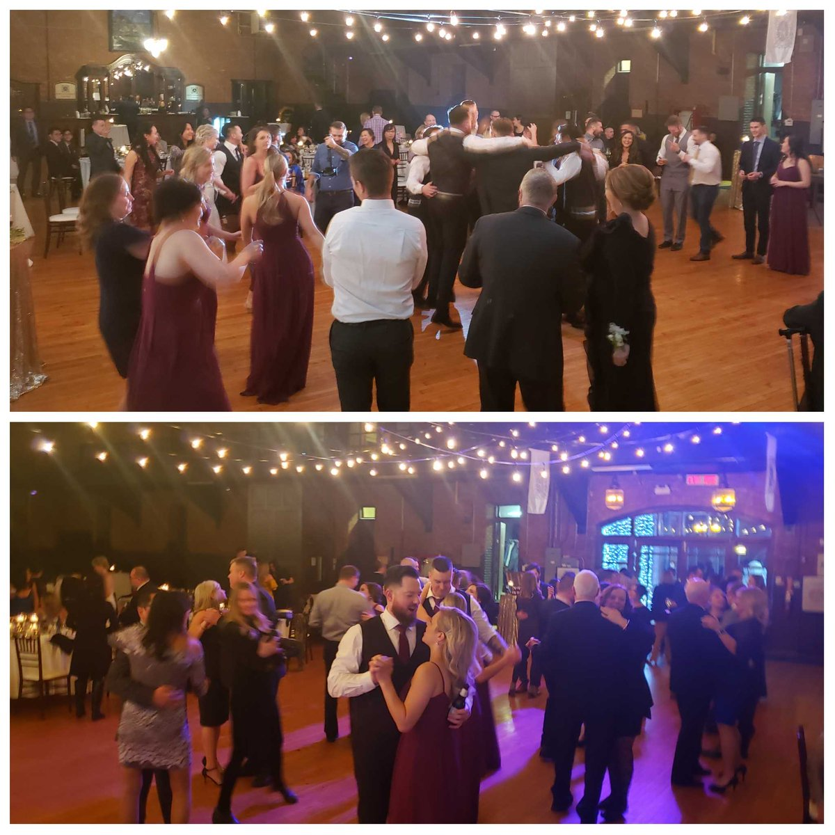 Kelsey & Derek's family and friends know how to party! :) . . . . . #onceuponatruong #justgrinproductions #reception #dance #party #wedding #coordination #weddingcoordinator #cassiesavestheday #mobiledj #weddingdj #djwaylan