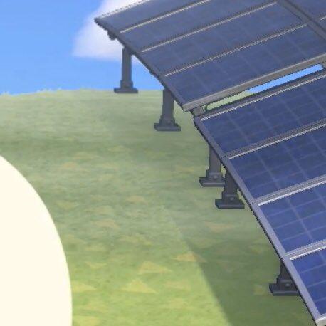 ソーラーパネル あつ森