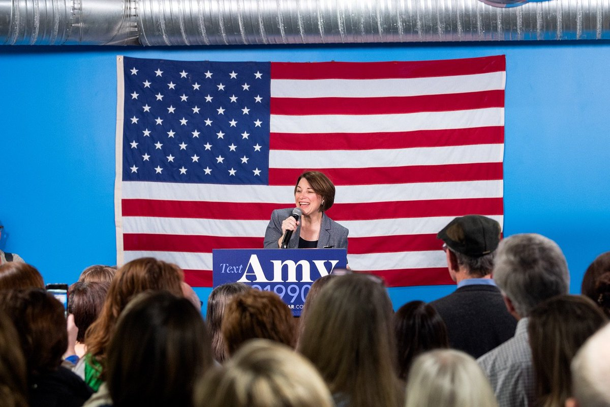 Trump's worst nightmare is that the people in the middle, the people who are tired of the mudslinging and the name-calling, will have a place to call home this November. Join us at amyklobuchar.com
