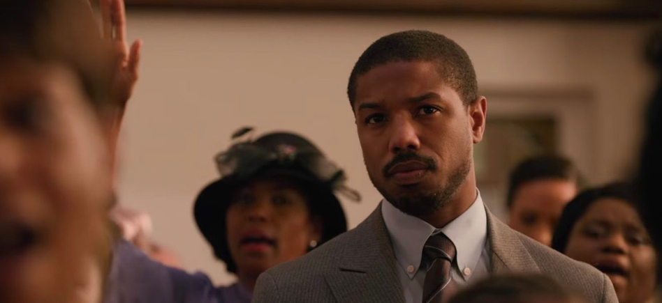 """Michael B. Jordan wins best actor in a motion picture for """"Just Mercy"""" #NAACPImageAwards"""
