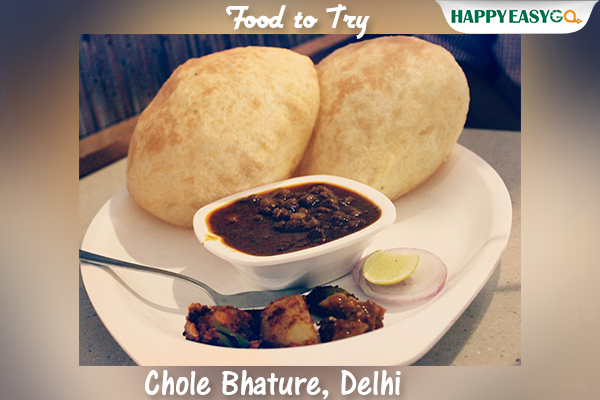 Travelling to Delhi and not eating Chole Bhature is just not allowed! Do give this lip-smacking desi food a try on your next visit to the capital city. � #CholeBhature #DelhiFood #FoodToTry #HappyEasyGopic.twitter.com/RBx8DnASeM