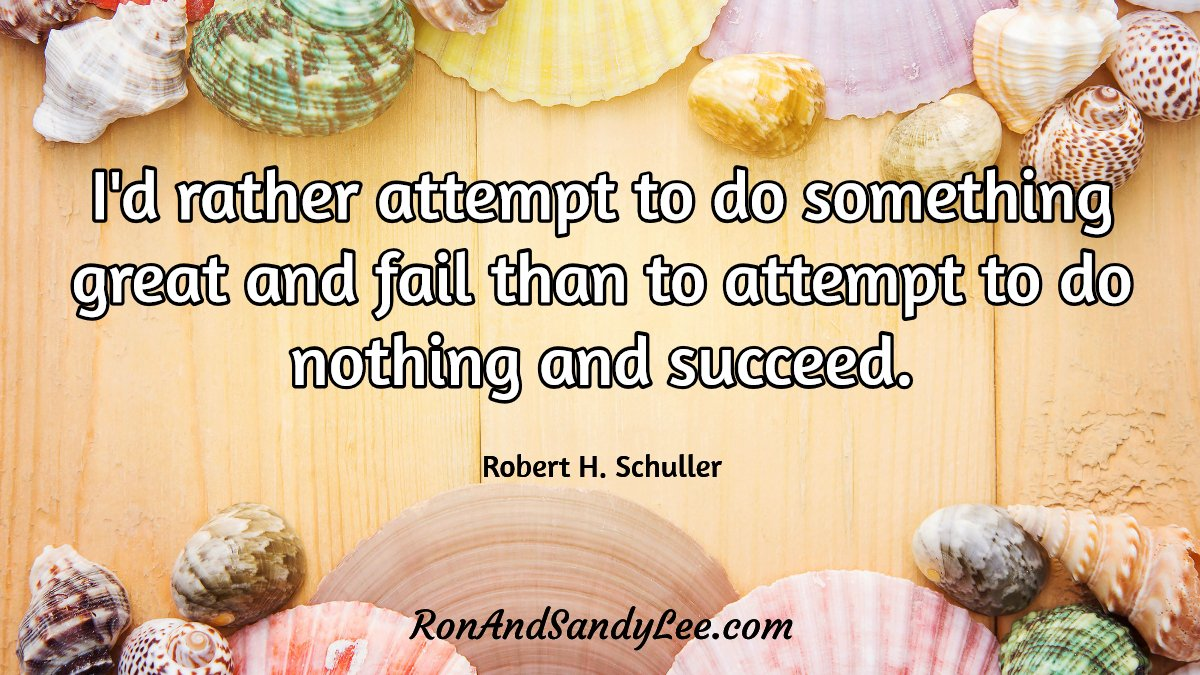 """""""I'd rather attempt to do something great and fail than to attempt to do nothing and succeed!"""" - Robert H. Schuller Attempt something great!  #entreprenuership #businessconsultant #successcoachpic.twitter.com/ph2X74Zlnr"""