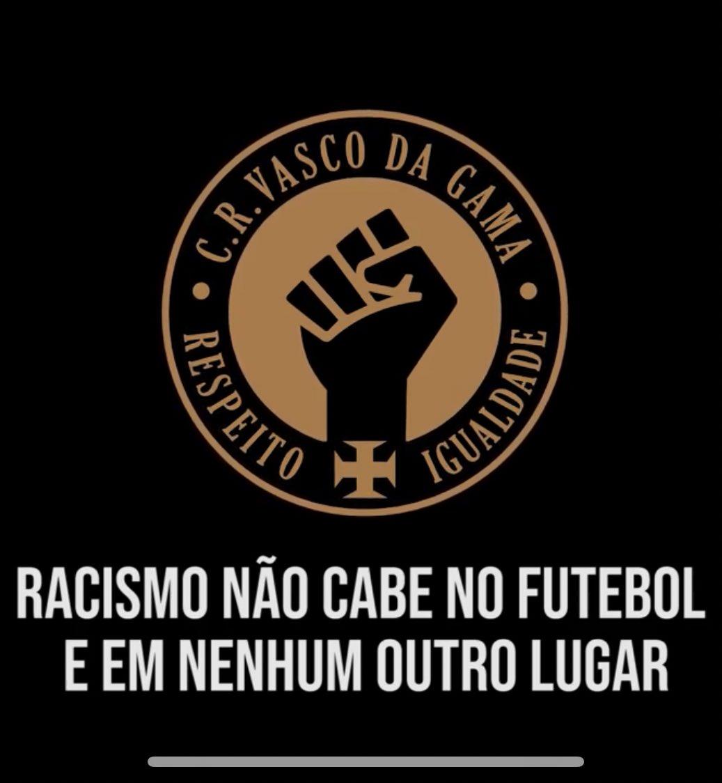 #KappanoVasco #Kappa  #NoRacism  #RacismoNao #fjv50anos  #saojanuario #VASCO  #ASSOCIAVASCO #MEUVASCOBMG  #HAVAN #TIM #NETBET   ◤✠◢  VASCO SEMPRE VASCO                                 ◤✠◢pic.twitter.com/dZtxehxg2Y
