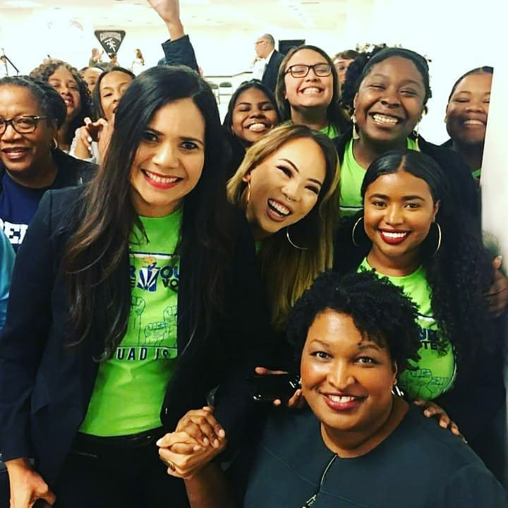 An #amazing  #leader #staceyabrams @staceyabrams visits  #Arizona Let's talk about voting rights y'all. #FairFight  #fairfightaction #VoterProtection #Elections #Elections2020 #Democracy   #OurVoiceOurVoteArizona #Vote @reginald @OVOV_AZ Thank you! ❤🌵🇺🇸