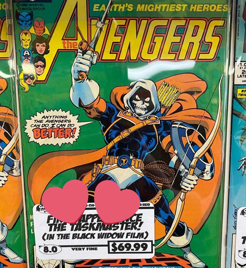 Taskmaster's first appearance, available at the LCS. Bargain for the price! #BlackWidowpic.twitter.com/sEqnZENdmq