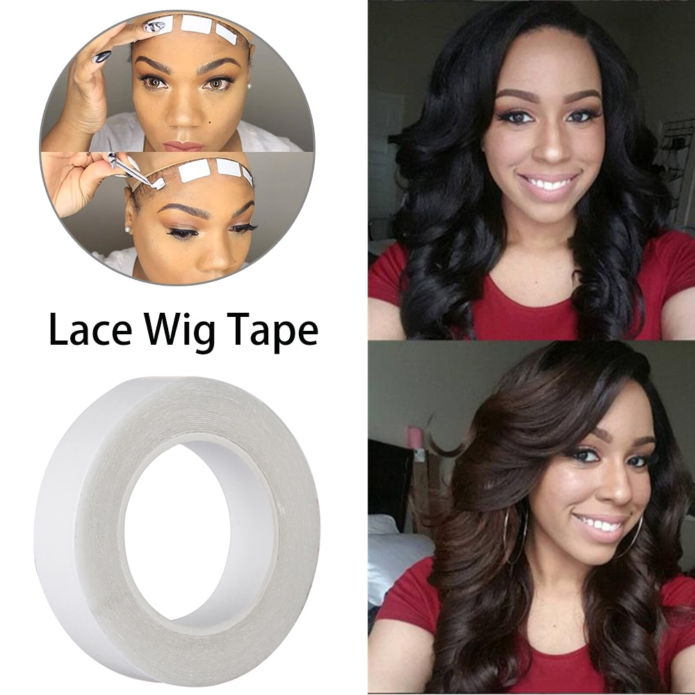 #beautiful #dress 3.0 Metre Double Sided Roll Lace Wig Glue Tape for Hair Extension